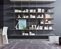 libreria tv modern designer bookcases tv media wall units molteni c
