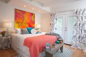 bed chevron bedrooms