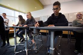 Desks For High School Students by Testing If Furniture Is Fit For Students In Bothell Heraldnet Com