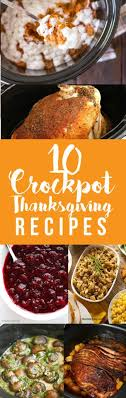 crockpot thanksgiving recipes easy cooking