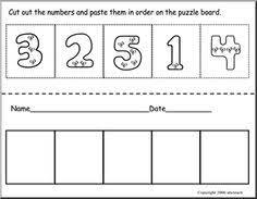 bunch ideas of ordering numbers 1 to 10 worksheets with additional