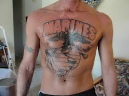 and eagle globe anchor chest marine corps tattoos 5356191