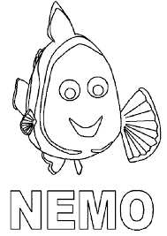 35 finding nemo coloring pages images finding