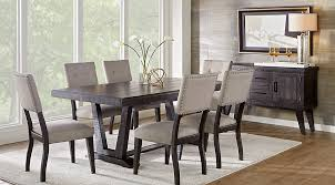 chairs to go with farmhouse table affordable rustic dining room sets rooms to go furniture