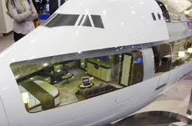 boeing 747 8 private jet takes luxury to a whole new level