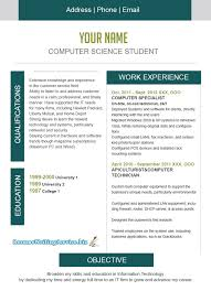 Sample Resume For Internship In Computer Science by 100 Computer Science Intern Resume Resume Samples For It