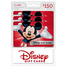 disney 150 multi pack 3 50 gift cards sam u0027s club