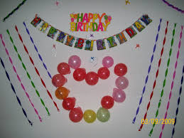 Simple Birthday Decorations At Home by Birthday Decoration For Wall Image Inspiration Of Cake And