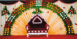 marriage decoration marriage stage flower decorations service in vijay nagar indore