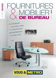 catalogue mobilier de bureau catalogue métro chr fournitures mobilier de bureau by madandaf