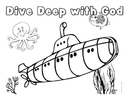 underwater coloring pages underwater coloring pages to download