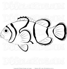 nemo fish coloring pages realistic clownfish with clown page eson me