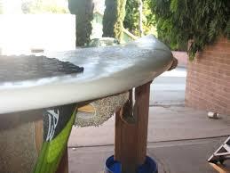 Surfboard Bar Table Surfboard Shaping Rack 5 Steps
