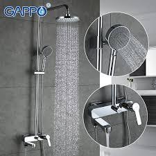 Shower Sets For Bathroom Gappo Bath Shower Faucets Set Bathtub Mixer Faucet Bath