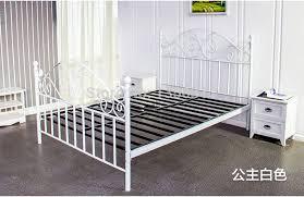 fer forgé chambre coucher moderne métallique en fer forgé lit simple ou largeur