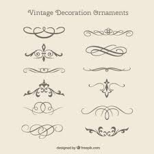 decoration clipart decorative shape pencil and in color
