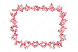 checkered ribbon checkered ribbon ties frame stock photo michaeljayfoto 21800821