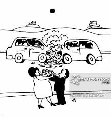 animated wrecked car car collisions cartoons and comics funny pictures from cartoonstock