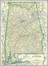 Map Of Alabama Counties Alabama Genealogy Free Genealogy Access Genealogy