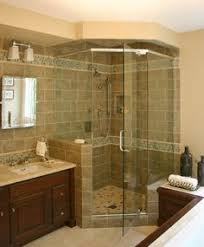 homestead gray tile floors subway tile showers and glass shower