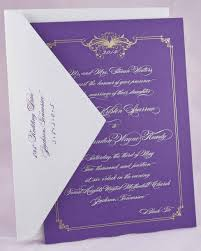 purple wedding invitations wedding invitation r royal e