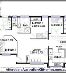 Four Bedroom Bungalow Floor Plan Simple 40 Simple 4 Bedroom House Plans Design Inspiration Of 28