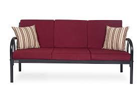 Sofa Set Sale Online Furniturekraft Florence Metal Sofa Set 3 1 1 With Maroon Mattress