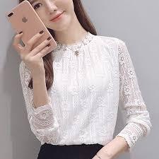 sleeve lace blouse clothing 2017 fashion plus size s shirts