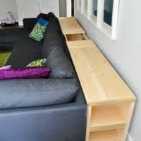 Bookshelf Behind Couch Console Pour L U0027arrière Du Canapé Salon Pinterest Console