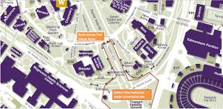 Map Of University Of Washington by Big Burke Gilman Trail Detours Coming Soon On Uw Campus Seattle