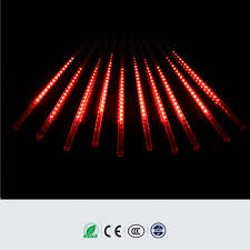 new led chasing lights meteor light waterproof