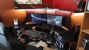 Custom Gaming Desks Pc Gaming Desk Album On Imgur