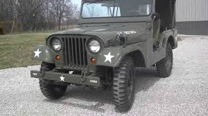 military jeep willys for sale 1952 m38a1 army jeep youtube