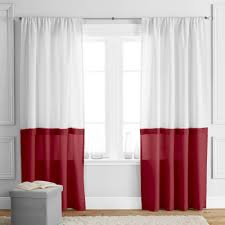 Better Homes Shower Curtains by Better Homes And Gardens Color Block Curtain Panel Walmart Com