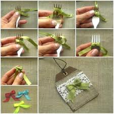 decorative bows how to make bows with a fork diy tag