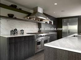 Kitchen Cabinets Solid Wood Construction Commercial Beech Wood Kitchen Cabinets Full Customized Traditional