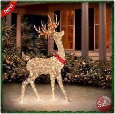 lighted reindeer lighted reindeer ebay