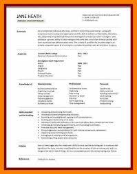 Student Resume Sample Pdf by 6 Student Cv Sample Pdf Biology Resume