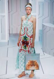 anya hindmarch shows cat lady chic at london fashion week daily