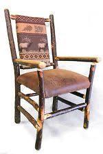 wood captains chair ebay