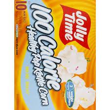 jolly time 100 calorie healthy pop kettle corn 10 ct walmart com