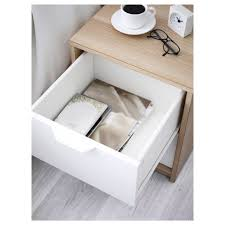Ikea White Bed With Drawers Askvoll 2 Drawer Chest Ikea