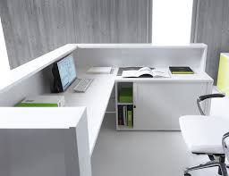 Desk U Shaped Linea U Shape Reception Desk With Tambour Mdd Office Furniture