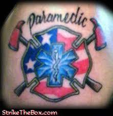 ems firefighter tattoos