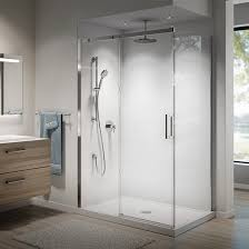 kalia vivio 60 x 75 sliding shower door for alcove