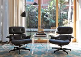 eames chair side table living room interior design diane bergeron interiors