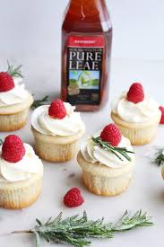 raspberry tea cupcakes with white chocolate frosting the sweet