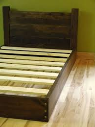 bed frame wood twin connerplumbing org inside wooden frames