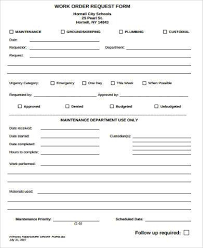maintenance request form template sle request forms you can this sle form material