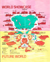 Disney Florida Map by 1990 Wdw And Seaworld Maps Theme Park Review